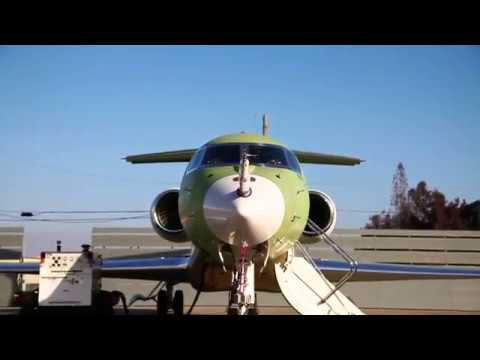 The First G600 Flight