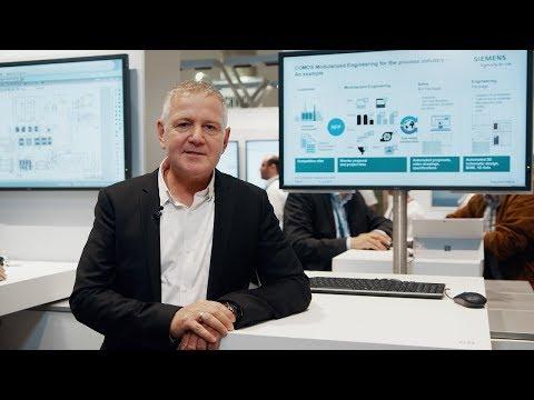 Siemens - Modularized engineering based on COMOS