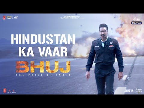 Bhuj: The Pride of India |Hindustan Ka Vaar | Ajay D. Sonakshi S. Ammy V. |Streaming Now