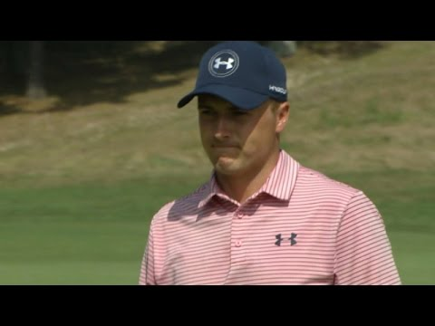 Jordan Spieth rights the ship with birdie on No. 18 at The Barclays