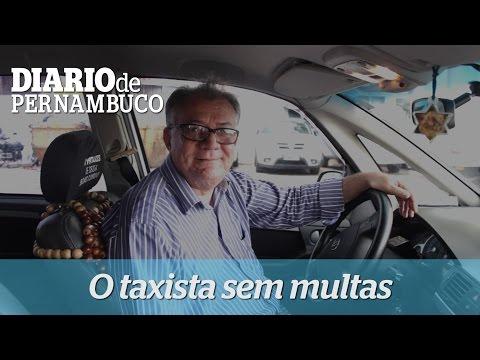 Taxista fala de boas atitudes no tr�nsito do Recife