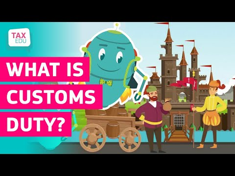 What is customs duty? photo