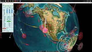 7/18/2019 -- West Coast USA Earthquake Activity -- M5.4 Oregon + California on new EQ watch