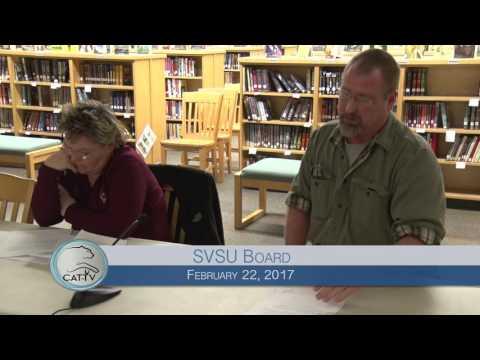 SVSU Board - 2/22/17