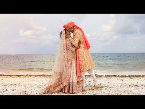 OUR WEDDING VIDEO ?INDIAN DESTINATION WEDDING - MEXICO