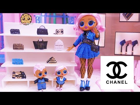 Shopping At CHANEL for Luxury Handbag - OMG LOL Surprise Big Sister + Brother - UCelMeixAOTs2OQAAi9wU8-g