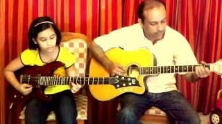 Jimmy Jimmy Aaja Aaja Guitar Cover - mnm8 , Pop
