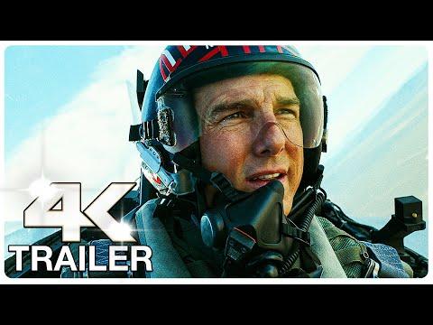 Movie Trailer : TOP GUN 2 MAVERICK : 8 Minute Trailers (4K ULTRA HD) NEW 2021