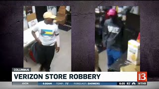 Police Looking for Men Who Robbed Verizon Store