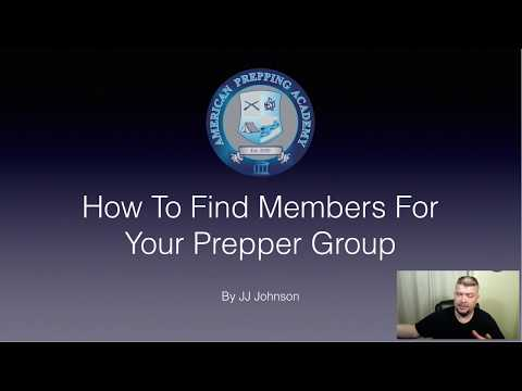 Top 5 Ways To Find Prepper Group Members