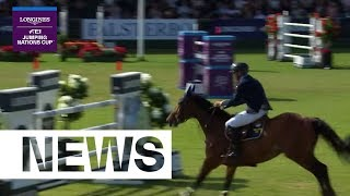 Close race between Sweden and Switzerland | Longines FEI Jumping Nations Cup™ 2019 (Falsterbo)