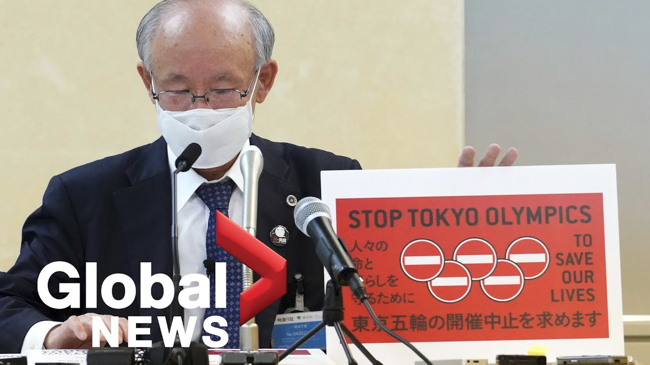 Petition to cancel Olympics amid 4th wave of COVID-19 submitted to Tokyo's governor