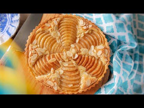 Очень вкусный и нежный МИНДАЛЬНЫЙ ТАРТ С ГРУШАМИ   простой рецепт Tarte Bourdaloue
