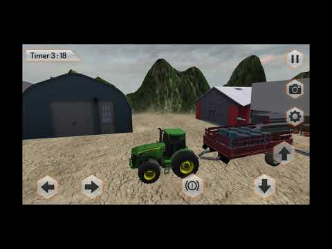 Heavy Tractor Trolley Driver Simulator Game(By Door to apps) Android Gameplay[HD]