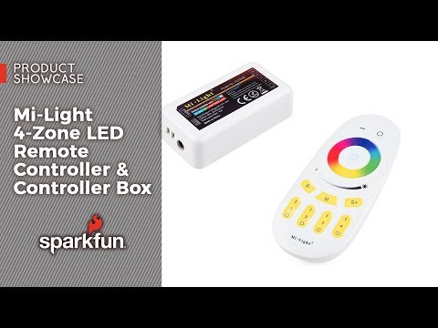 Product Showcase: Mi-Light 4-Zone LED Remote Controller & Controller Box