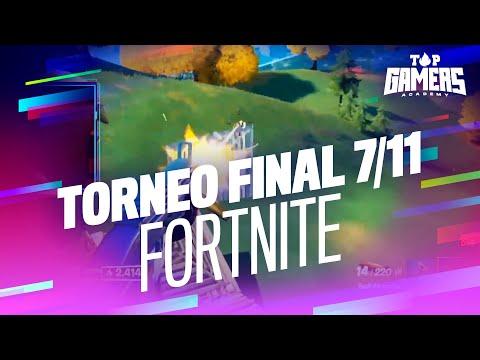 3ª PARTIDA de FORTNITE   TORNEO FINAL (7 NOV)   TOP GAMERS ACADEMY