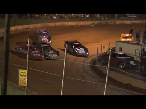 Limited Late Model at Winder Barrow Speedway August 21st 2021 - dirt track racing video image