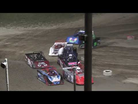 Mini Wedge 10-14 A-Feature at Crystal Motor Speedway, Michigan on 08-07-2021!! - dirt track racing video image