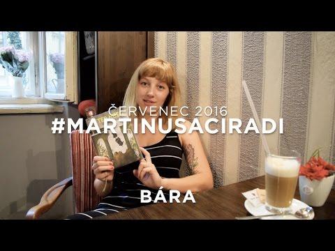 Červencové knižní tipy: Bára - Příběhy jedné noci #martinusaciradi