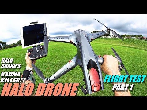 GoPro Karma Killer!? HALO DRONE PRO Flight Test Review Part 1 - With TX & Tracker - 2018 Top Drone? - UCVQWy-DTLpRqnuA17WZkjRQ