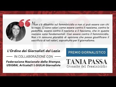 Premio Tania Passa: la consegna dei premi ai vincitori