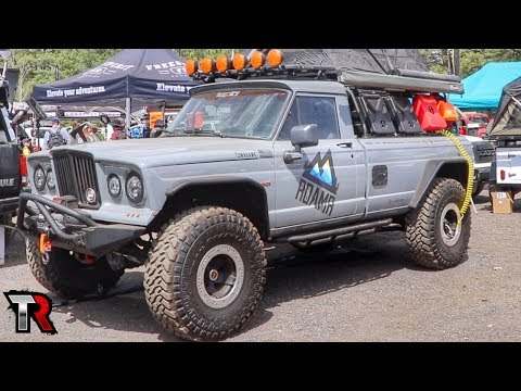 Vehicles of Overland Expo West 2018