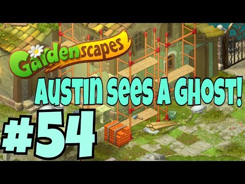 GARDENSCAPES NEW ACRES #54 Gameplay Story Playthrough | Area 10 New Castle  Area Day 2