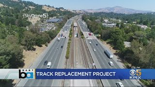 Expect Delays During BART Track Replacement Project Along Highway 24