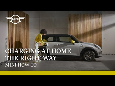 Charging at home the right way   MINI How-To