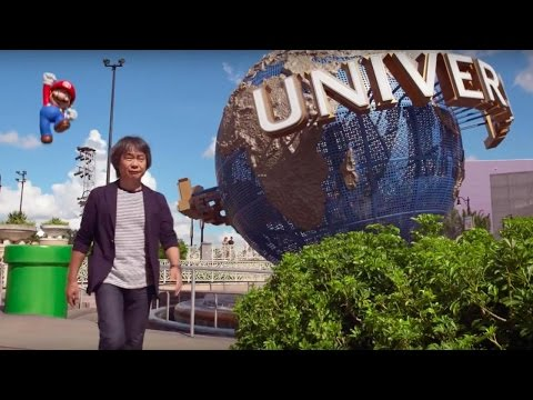 The Vision for Nintendo at Universal Theme Parks Video
