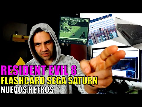 Resident Evil 8, Satiator el Flashcard para Sega Saturn y Lo Mas Nuevo de Gameboy y Megadrive