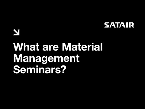 Satair - Airbus Material Management Seminars
