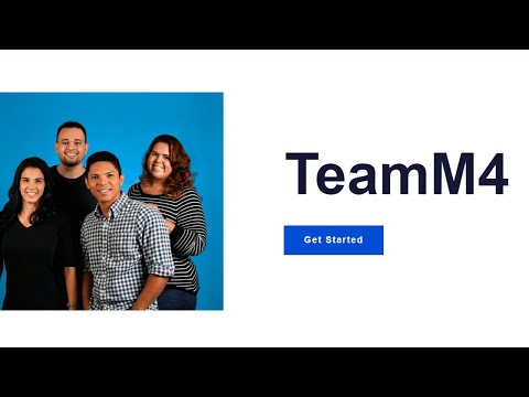 Mobirise Teams Bootstrap Template | TeamM4