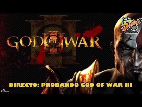DIRECTO: PROBANDO GOD OF WAR III