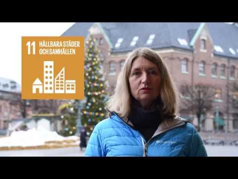 FN:s globala hållbarhetsmål: Ljus i offentliga miljöer