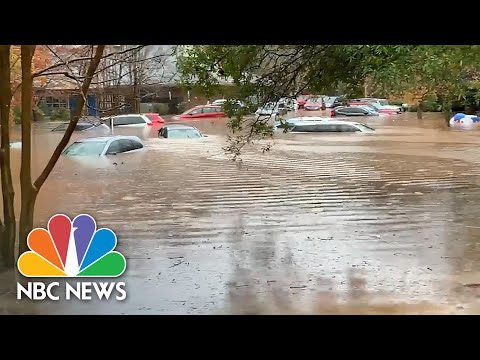 Videos Show Extreme Flooding In North Carolina Caused By Tropical Storm Eta | NBC News NOW