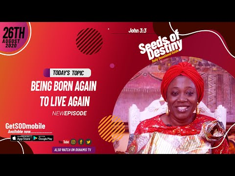 Dr Becky Paul-Enenche - SEEDS OF DESTINY - WEDNESDAY AUGUST 26, 2020