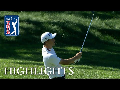 Chesson Hadley?s Round 2 highlights from Quicken Loans 2018