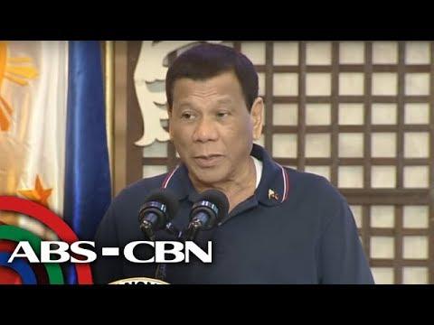 5 pulis-Bacolod sinibak ni Duterte dahil sa droga