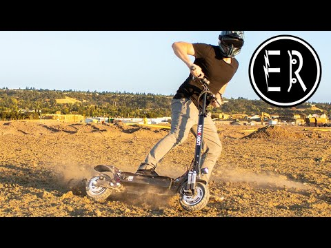 Nanrobot D4+ folding electric scooter review: THE 40 MPH SPEED DEMON!!!