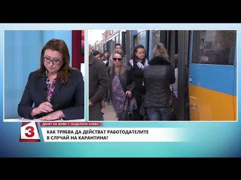 Денят на живо с Наделина Анева, 10.03.2020 г.: Гост е Димитър Манолов от КТ Подкрепа