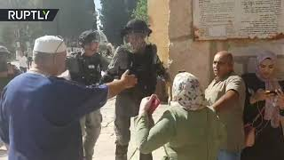 IDF clashes with Palestinian worshipers at Temple Mount over admittance rights