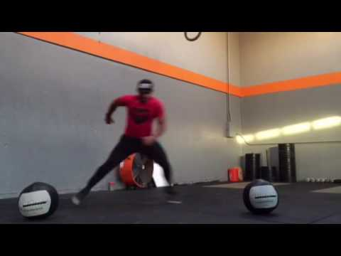 Lateral Skater Hops (Plyometric)