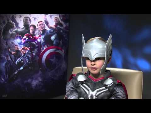 Marvel's Avengers: Age of Ultron - Mini Thor Meets Black Widow & The Hulk  - OFFICIAL | HD - UCM-jlCRlsC59Pq5oXa61CzA
