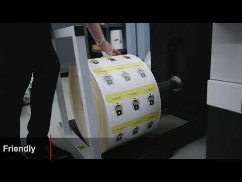 Rotoflex DF3- Digital Label Finishing Made Easy