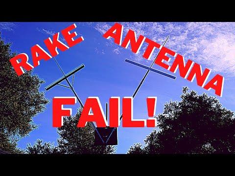 Rake Antenna Wil it work?