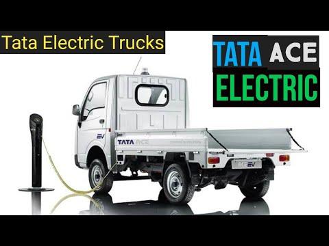 Tata Ace EV - Complete Story of Tata Electric Trucks