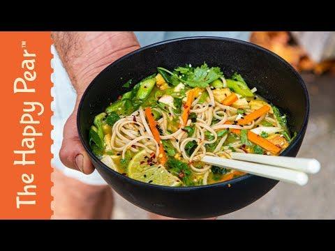 Thai Noodle Soup | The Happy Pear