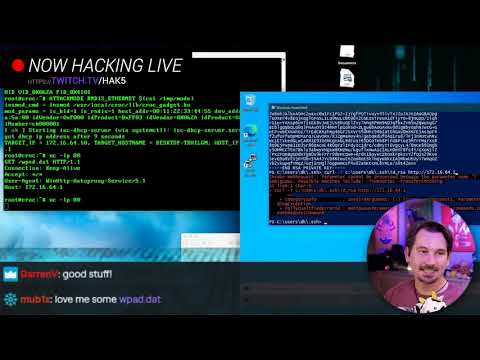 Announcing Hak5 on Twitch - Hack Live, backstage with Hak5