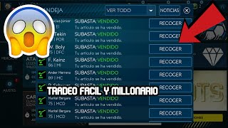 TRADEO PARA GANAR MILES DE MONEDAS FIFA MOBILE 19/RÁPIDO Y FÁCIL/NUEVO MÉTODO